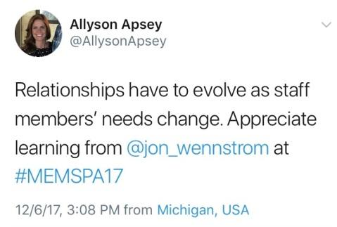 MEMSPA tweet