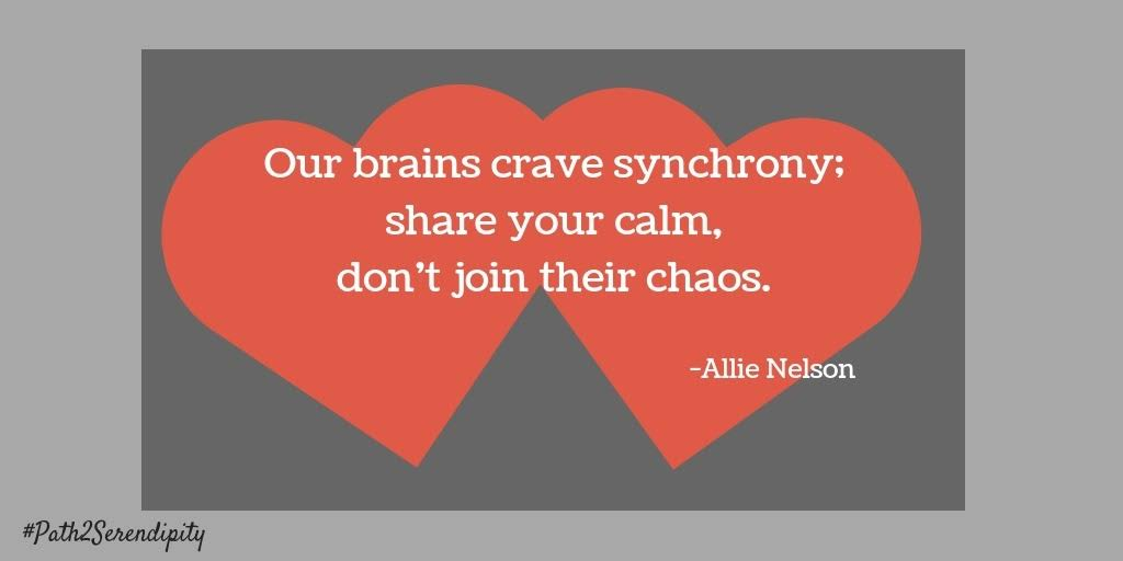 keep your calm, don't join their chaos